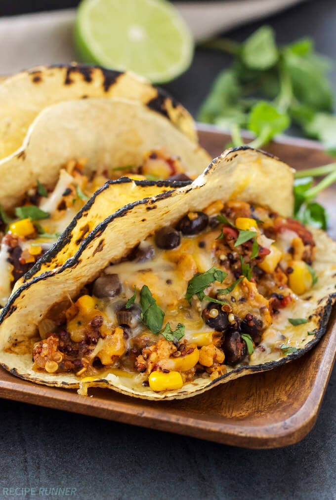 Turkey taco quinoa skillet spoonful of flavor turkey taco quinoa skillet this healthy and easy to make turkey taco quinoa skillet dinner forumfinder Choice Image
