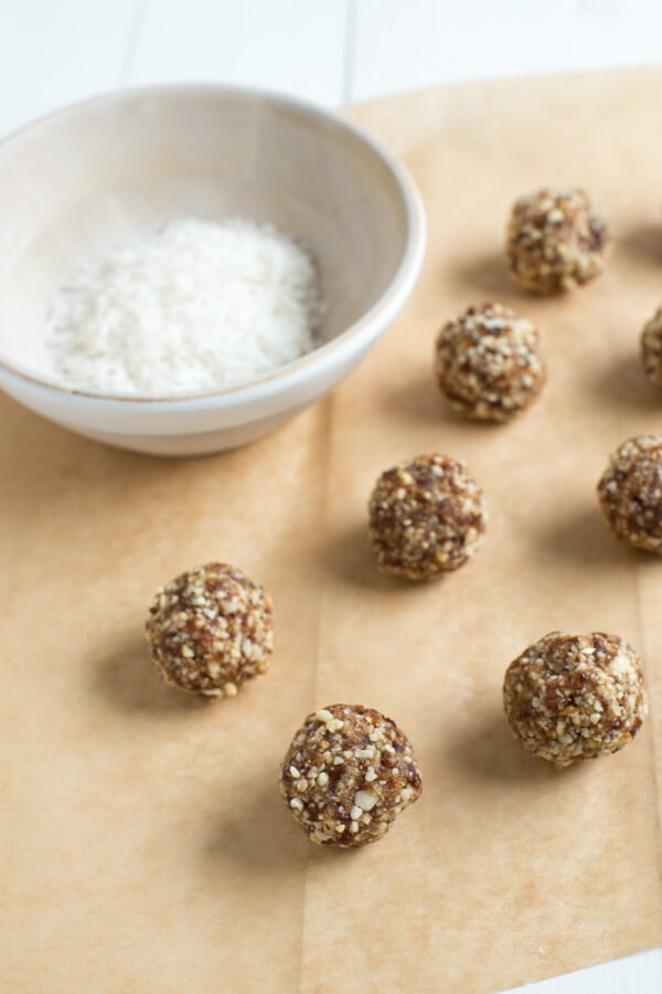 Vanilla Coconut Crunch Energy Bites are a fun snack that both kids and adults will love!