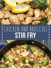 Healthy Chicken and Broccoli Stir Fry recipe