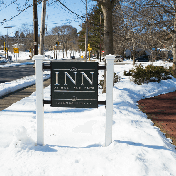 The Inn at Hastings Park in Lexington, Massachusetts is a quaint, relaxing and luxurious inn located near the Birthplace of American Liberty! Cozy up to your own fireplace, enjoy a farm to table meal at Artistry on the Green and take a step back into history.