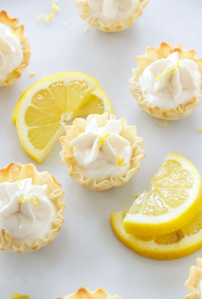 Mini Lemon Cream Pies