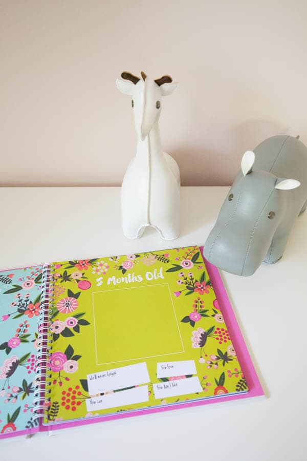How to Choose the Best Baby Gear and Essentials featuring ten items to have on hand before baby arrives and more! Featuring Lucy Darling Baby's First Year Memory Book.