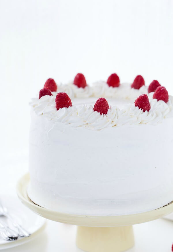 Berry Baby Shower Recipes including Coconut Raspberry Cake with Whipped Cream Frosting and more!