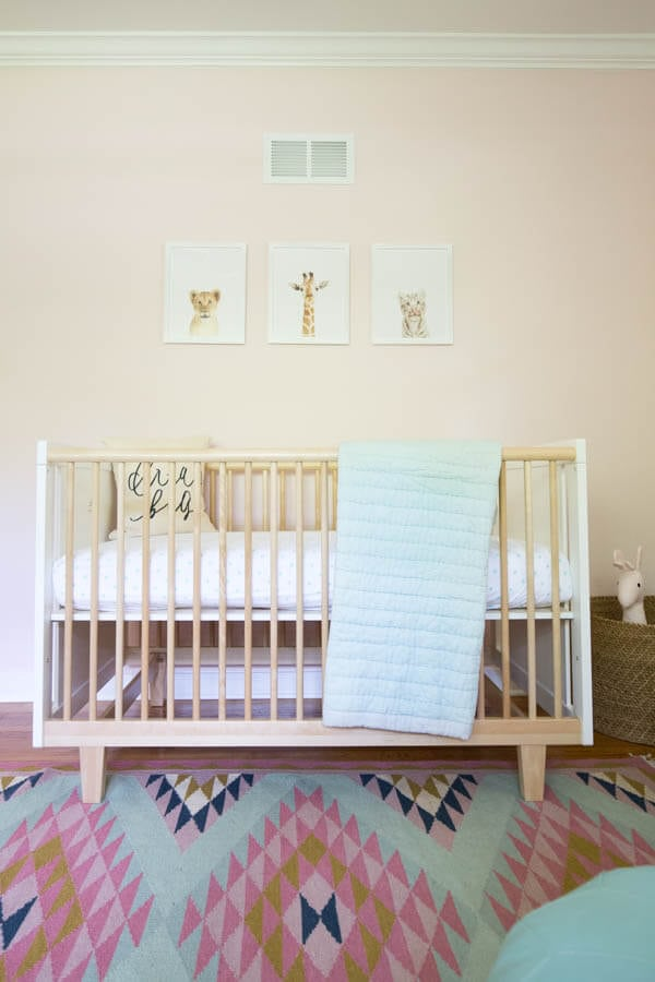 How to Choose the Best Baby Gear and Essentials featuring ten items to have on hand before baby arrives and more! Featuring Oeuf Rhea Crib and Naturepedic Mattress!