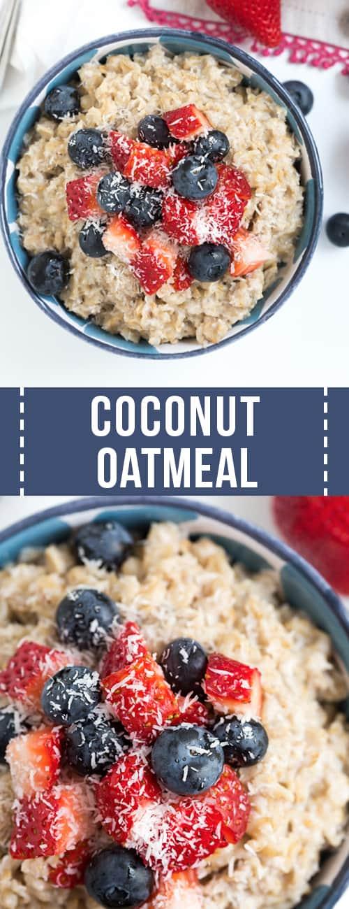 best oatmeal recipe coconut