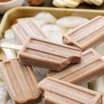 Chocolate Peanut Butter Banana Yogurt Pops