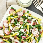 Green-Bean-Radish-Bacon-Salad-with-Creamy-Feta-Dressing