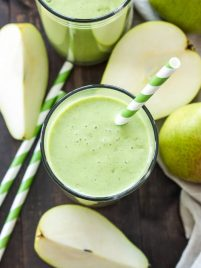 Pear Ginger Smoothie | www.reciperunner.com