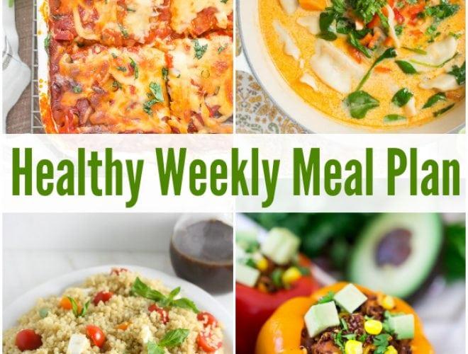 healthy weekly meal plan 2 11 17 spoonful of flavor