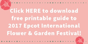 Download the Guide to Epcot International Flower and Garden Festival
