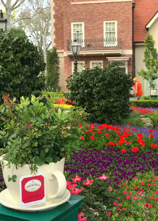 Epcot English Tea Garden