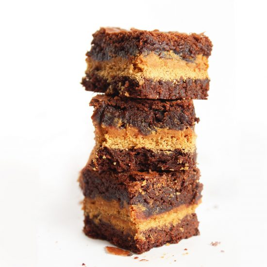 Peanut Butter Graham Cracker Brownies