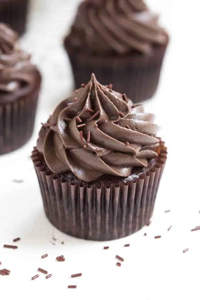 Flourless Mexican Chocolate Cupcakes Spoonful Of Flavor