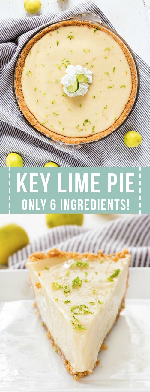 A collage of key lime pie
