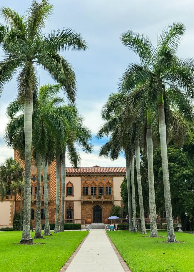 Visit the Ringling Museum in Sarasota, Florida and experience beautiful gardens, an impressive fine art collection, the Ringling circus museum and more!