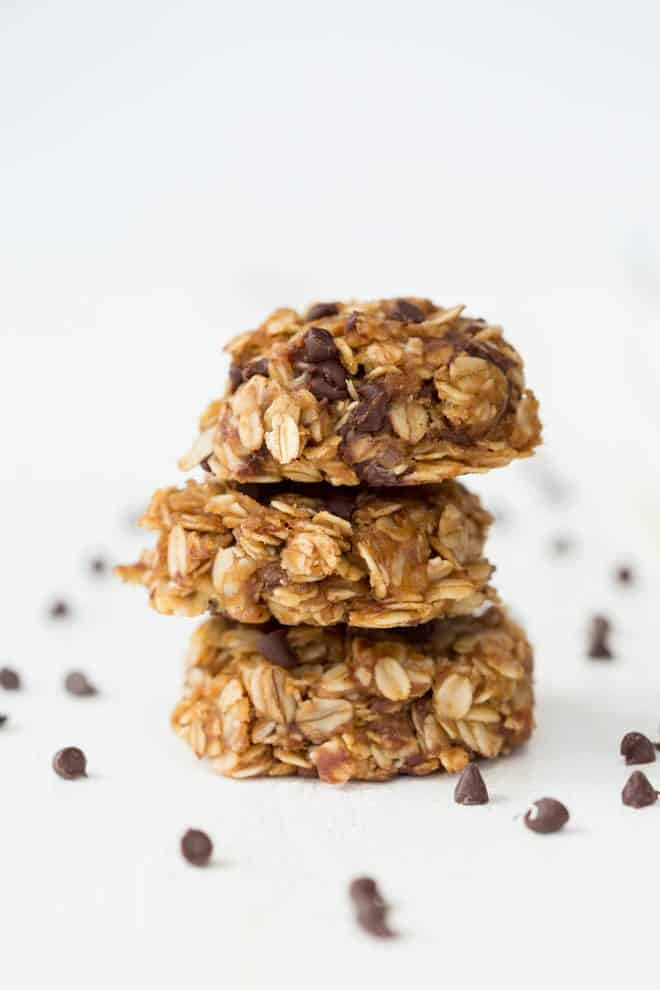 Healthy No Bake Chocolate Peanut Butter Oatmeal Cookies Spoonful