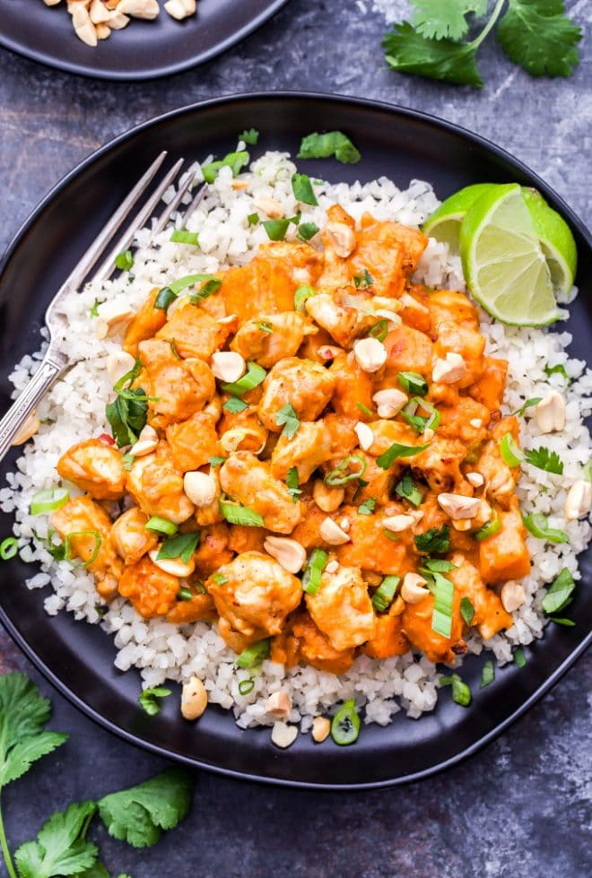 Skillet Thai Chicken and Sweet Potato Curry | www.reciperunner.com