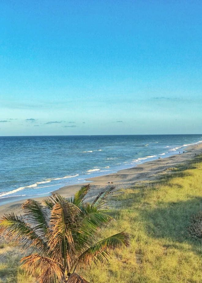 Enjoy a few of my favorite things to do in Orlando before you head to the beach for an Orlando to Beaches Florida Road Trip and explore Hutchinson Island, Florida! Featuring the beach on Hutchinson Island, Florida.