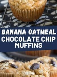 oatmeal muffin on a baking rack