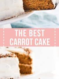 moist carrot layer cake