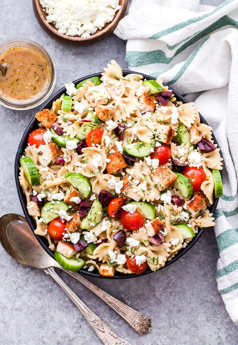 This Greek En Pasta Salad Is A Healthy Main Dish That S Delicious Any Time