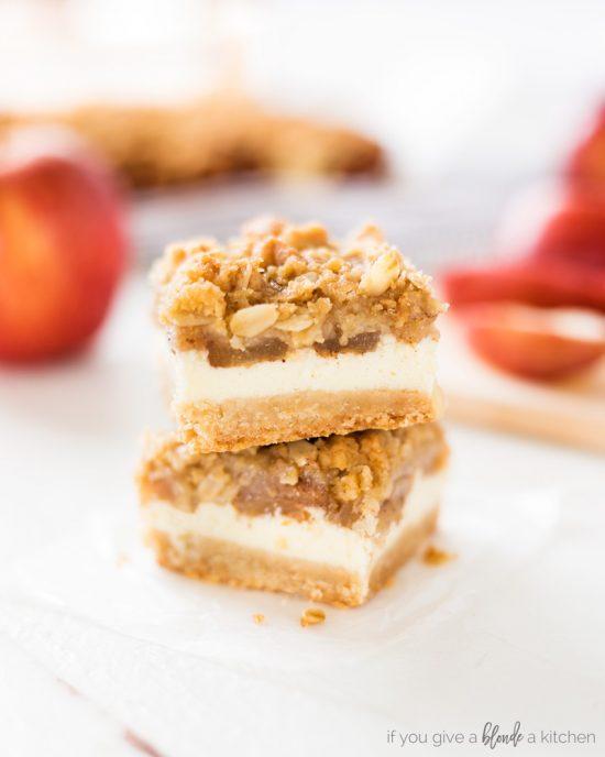 Apple Cheesecake Bars Recipe