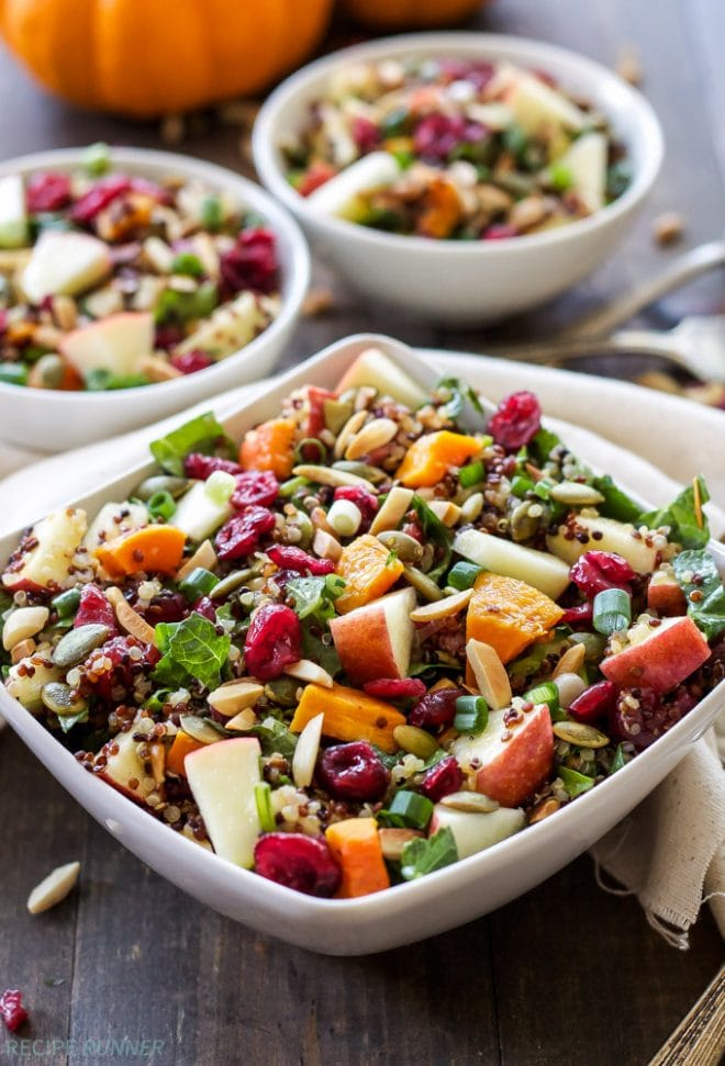 Harvest Quinoa Salad | @reciperunner