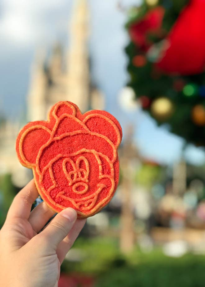 Mickey's Very Merry Christmas Party at Walt Disney World's Magic Kingdom Park is a must every holiday season! The party is a fun way to experience the holidays with delectable party food, unique themed attractions, holiday Wishes fireworks and more. #Disneyworld #Mickey's #ChristmasParty #VeryMerry #Holiday #Christmas #Disney #Orlando #cookies