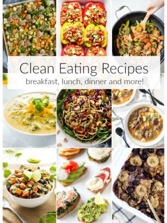 Clean Eating Recipes including recipes for breakfast, lunch, dinner and meal prep. Check out a few of our favorite recipes packed with nutrients and the freshest flavor. #clean #eating #lunch #dinner #breakfast #recipes #healthy