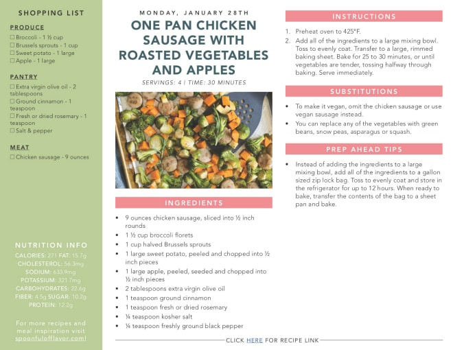 graphic regarding Eat More Chicken Sign Printable identify New Feeding on Simple Weeknight Supper Applications - Spoonful of Style