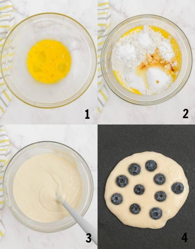 steps to make buttermilk pancakes