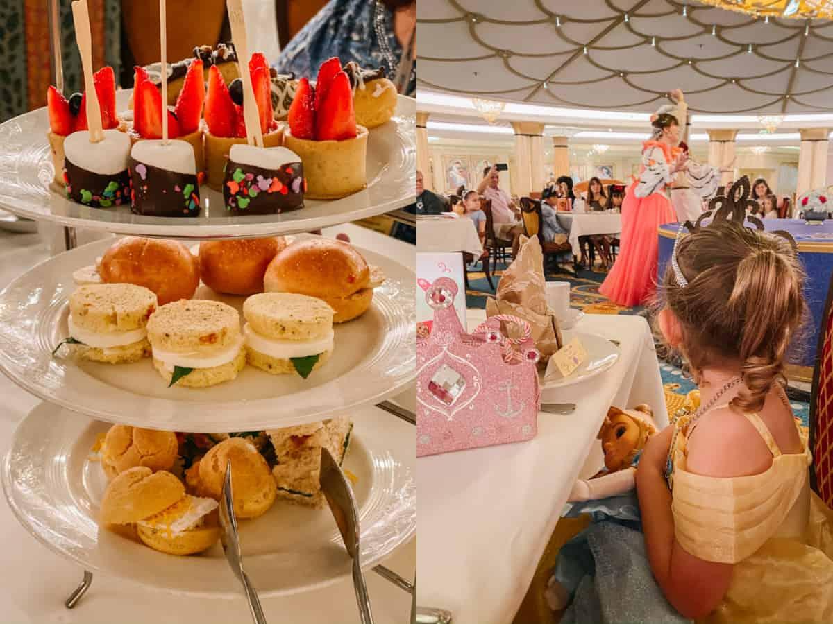 royal tea on disney cruise