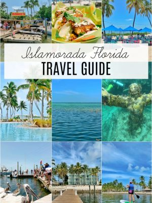 Travel guide to Islamorada Florida Keys including pool, snorkeling, restaurants and more.
