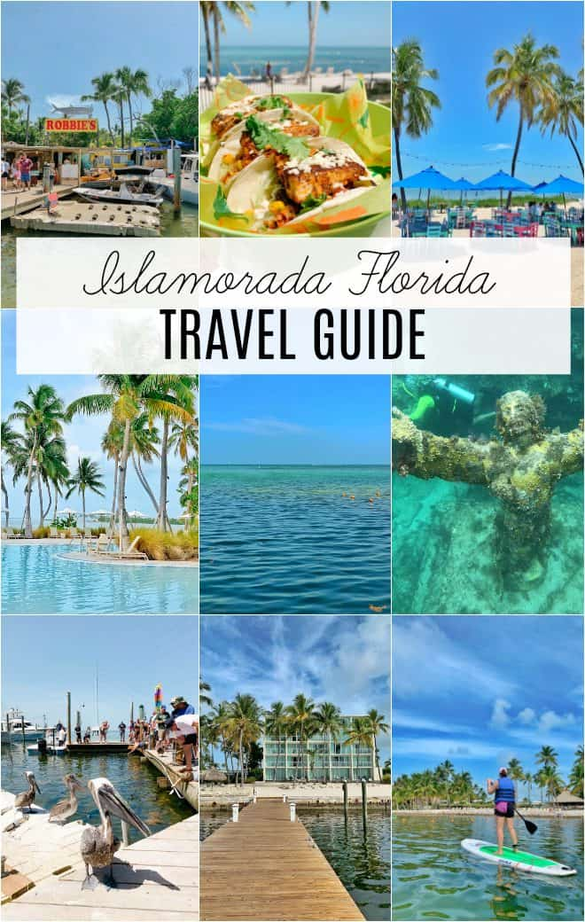 Travel guide to Islamorada Florida Keys including pool, snorkeling, restaurants and more.