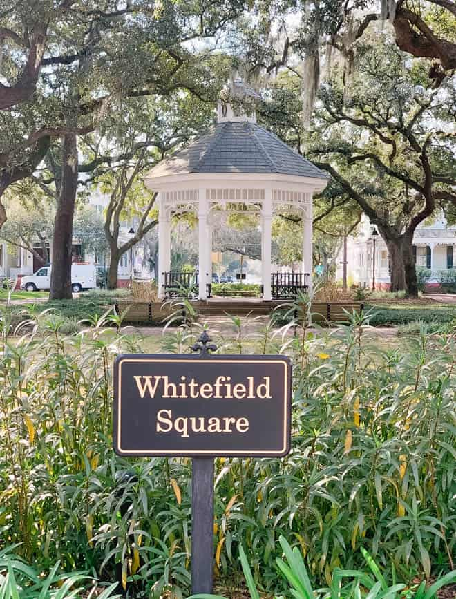 Whitefield Square Savannah georgia