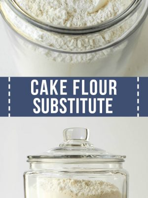 cake flour substitute in a jar