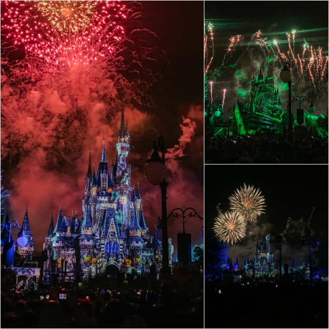 fireworks for Halloween at Walt Disney World