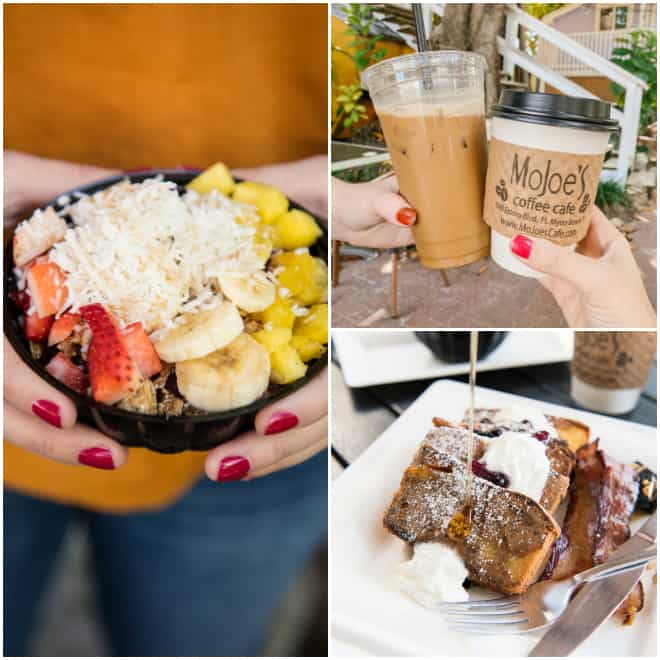 guide to fort myers and cape coral Florida including MoJoes Café