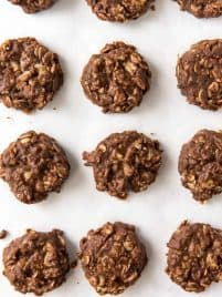 chocolate no bake oatmeal cookies
