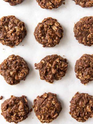 chocolate no bake oatmeal cookies