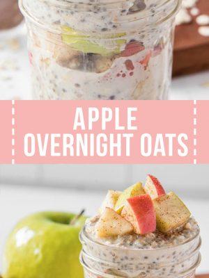 apple overnight oats