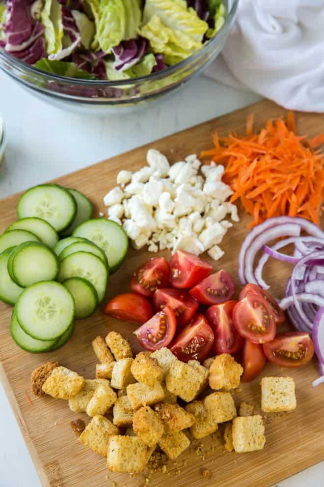 garden salad ingredients