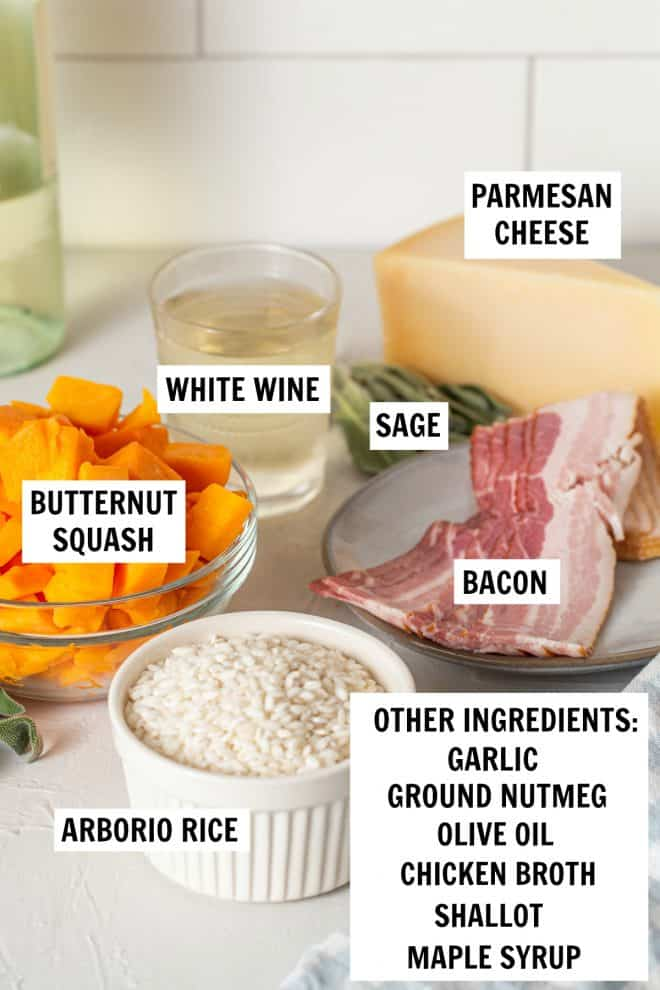 butternut squash risotto ingredients
