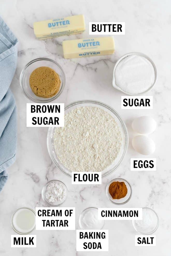 snickerdoodle cookie ingredients