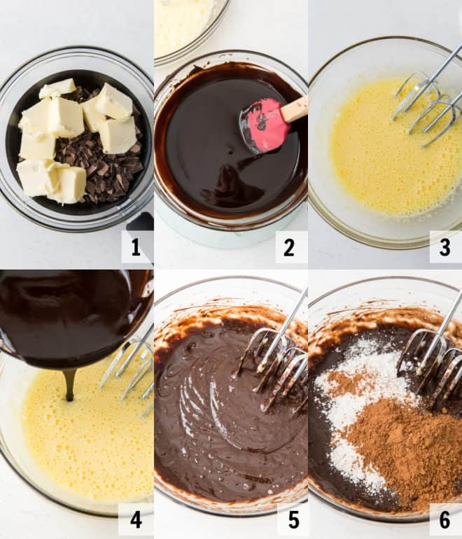 ingredients to make lava cakes