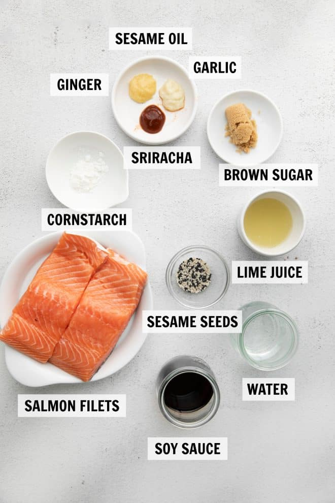 ingredients for instant pot salmon