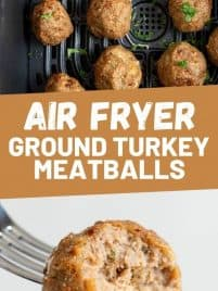 meatballs cooked in the air fryer