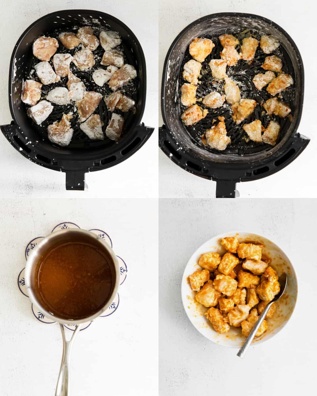 cooking orange chicken in the air fryer