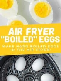 eggs hard boiled in air fryer